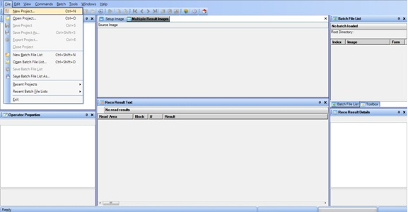 RecostarDesignStudio_SelectNewProject