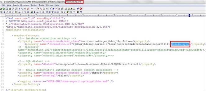 MSSQL Windows Authentication: Setup Ephesoft Database without SQL