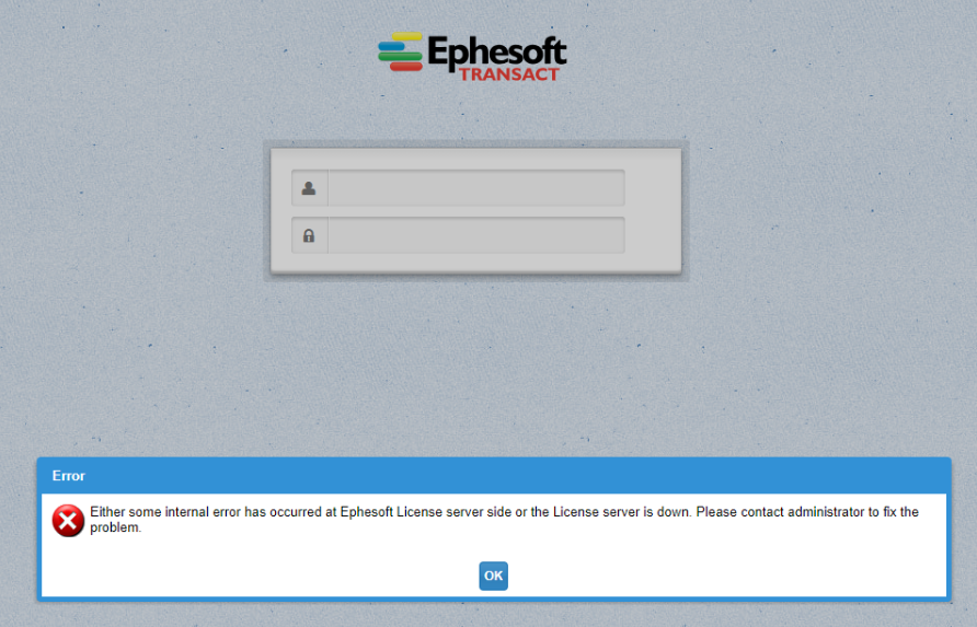License Validation | Ephesoft Docs