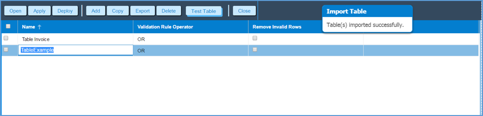 Table Extraction Plugin | Ephesoft Docs