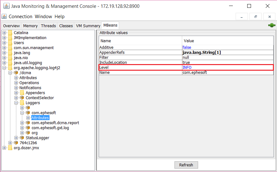 How to Configure the Dynamic Logging Functionality?   Ephesoft Docs