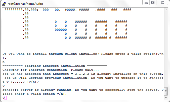 Ephesoft Linux Single-Server Upgrade Installation guide