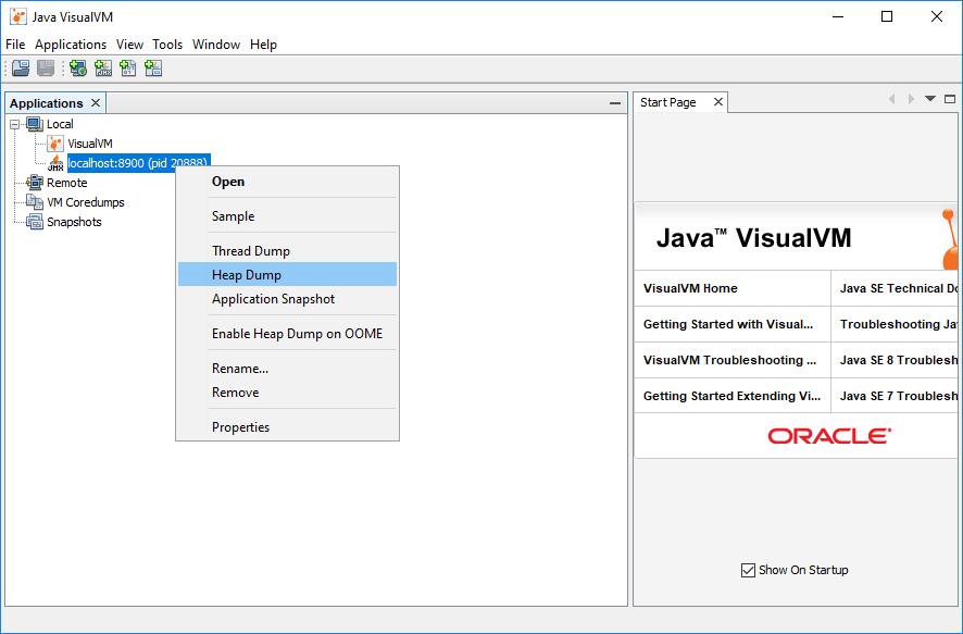 How To Use Jvisualvm | Ephesoft Docs