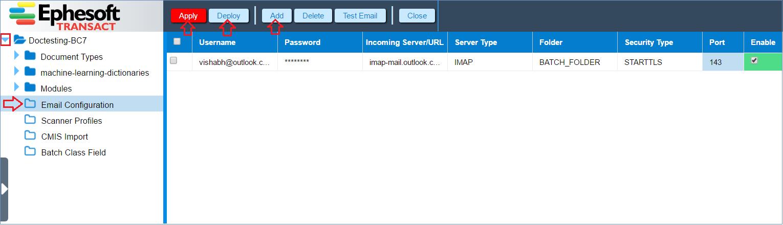 Email Import Improvements | Ephesoft Docs
