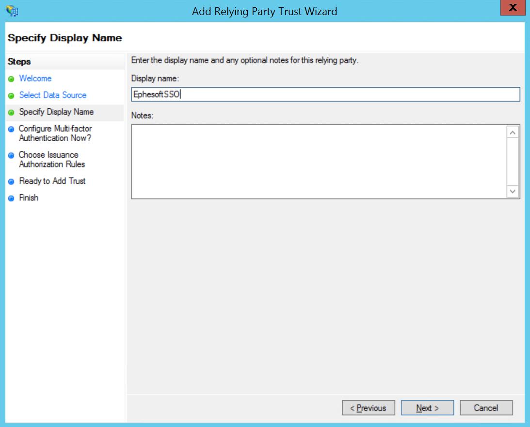 Manually Configuring SAML 2 0 SSO for Ephesoft Transact 4 5