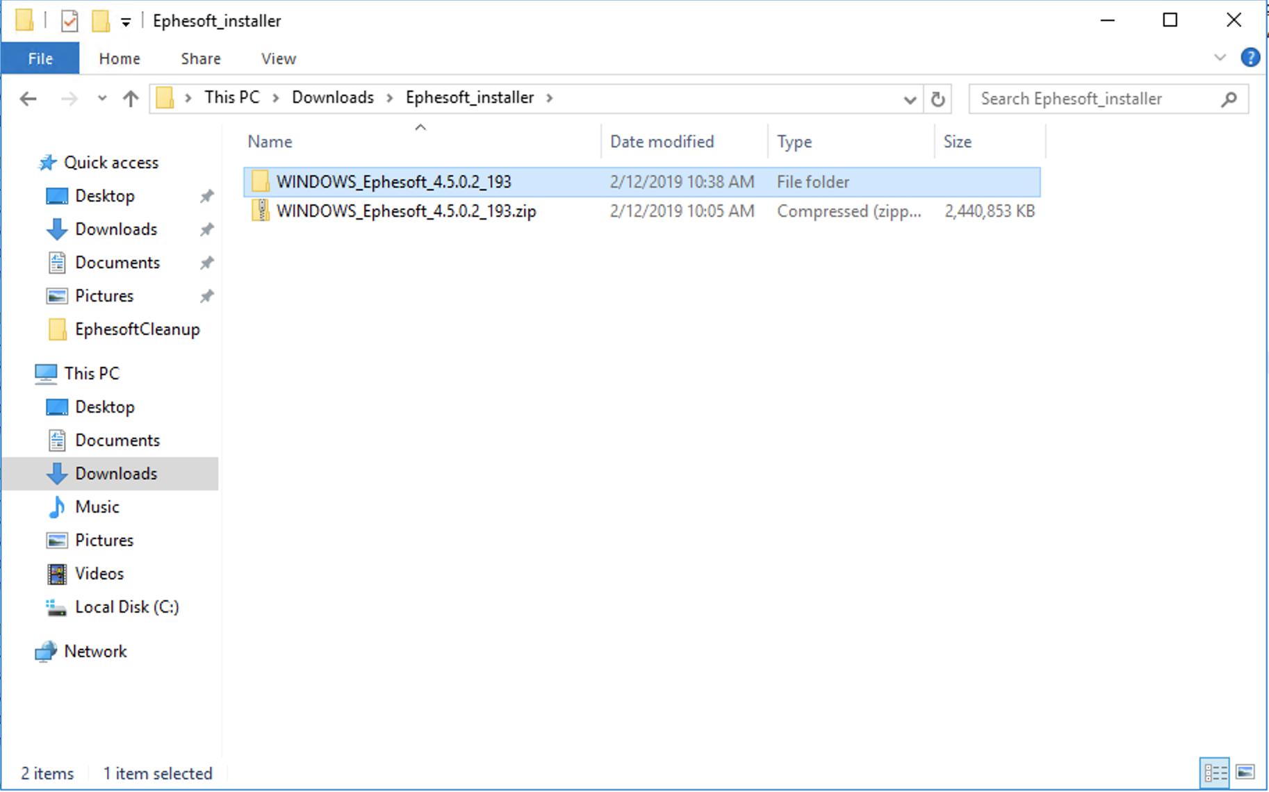 Transact 4 5 0 0 — Upgrading on Windows | Ephesoft Docs