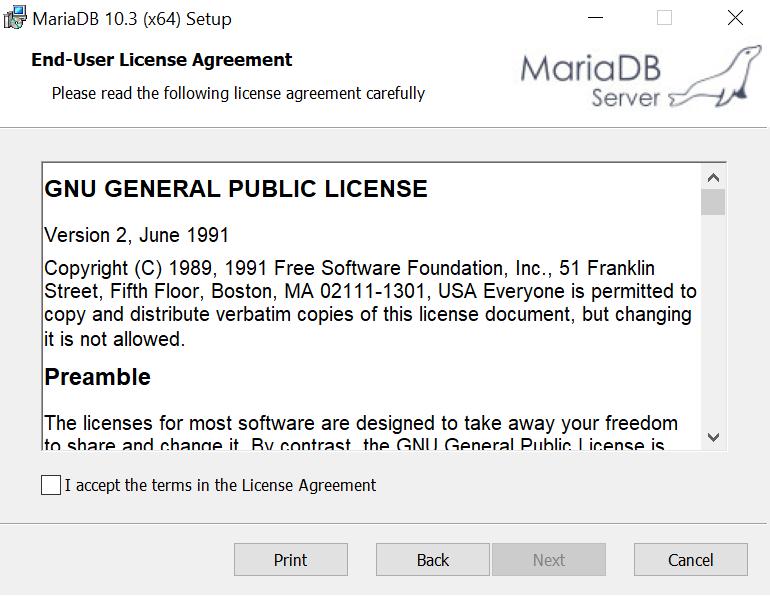 Install and Migrate MariaDB or MySQL for Windows | Ephesoft Docs