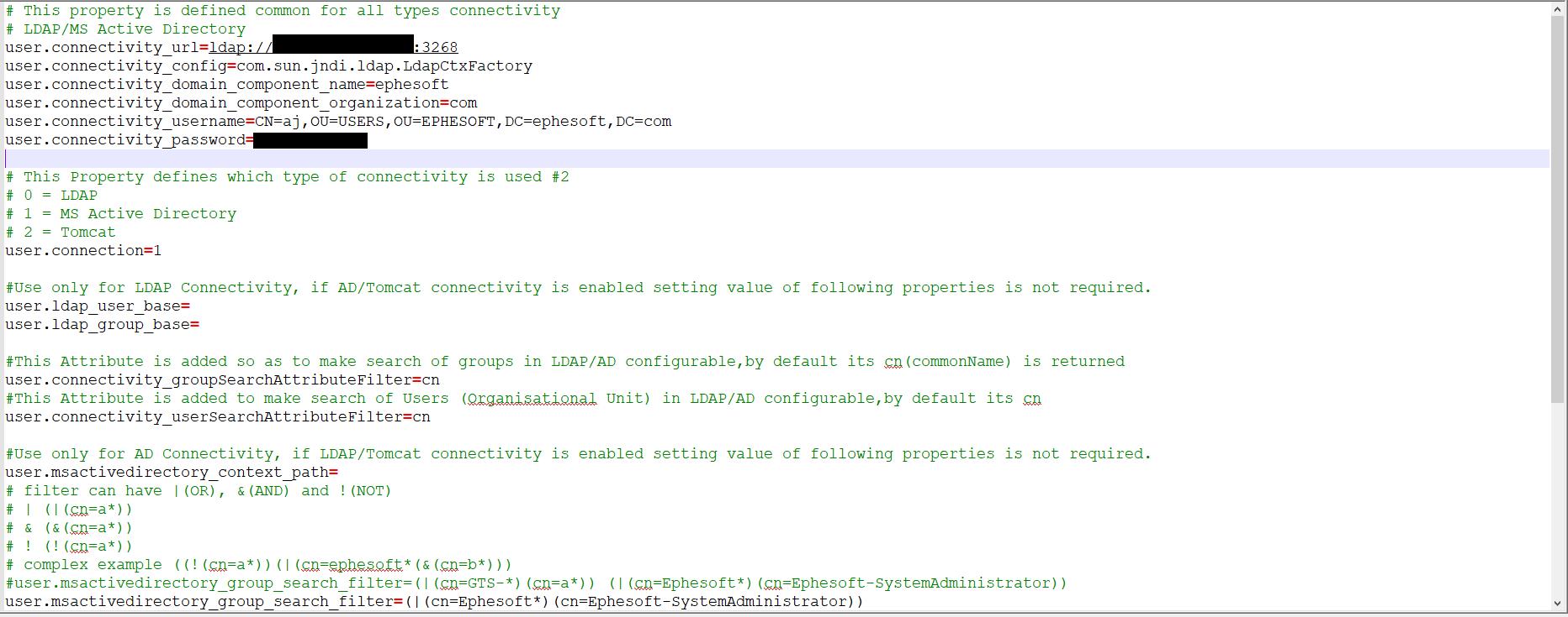 Integrating Ephesoft with Active Directory | Ephesoft Docs
