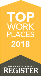 Top Work Places 2018 - The Orange County Register