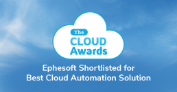 Ephesoft Shortlisted for The Cloud Awards 2018