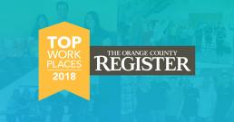 Ephesoft Awarded OC Register Top Work Places 2018