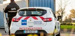 SERIS security car