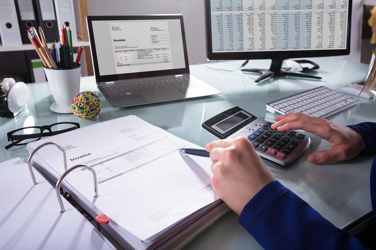 Accounts payable invoice