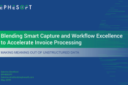 Nintex workflow excellence meets Smart Capture